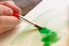 Έργο τέχνης Watercolor στοκ φωτογραφίες