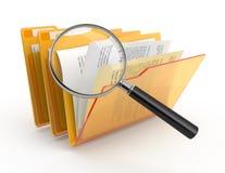 έρευνα γραμματοθηκών Στοκ Φωτογραφίες