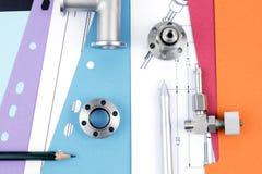 Έρευνα και αναπτυξιακή διαδικασία στην εφαρμοσμένη μηχανική Στοκ Εικόνες