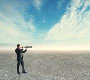 Έρευνα και μελλοντική έννοια στοκ εικόνα με δικαίωμα ελεύθερης χρήσης