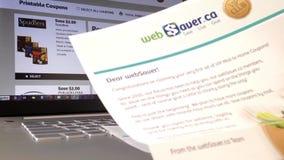 Έρευνα και να πάρει των δελτίων ταχυδρομείου απόθεμα βίντεο