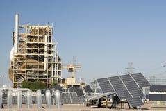 έρευνα 3 κέντρων ηλιακή Στοκ Εικόνες
