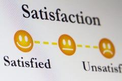 Έρευνα Satistfaction Στοκ εικόνα με δικαίωμα ελεύθερης χρήσης