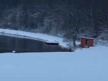 Έρημη και εγκαταλειμμένη σκηνή Στοκ εικόνες με δικαίωμα ελεύθερης χρήσης