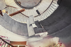 Έρημη σκάλα ανοιχτήρι Στοκ φωτογραφία με δικαίωμα ελεύθερης χρήσης