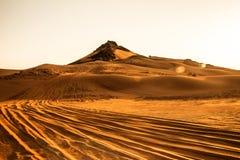 Έρημοι Ντουμπάι Στοκ φωτογραφία με δικαίωμα ελεύθερης χρήσης