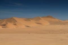 Έρημος άμμου Namib κοντά σε Swakopmund Στοκ εικόνες με δικαίωμα ελεύθερης χρήσης