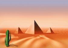 έρημος Αιγύπτιος ελεύθερη απεικόνιση δικαιώματος