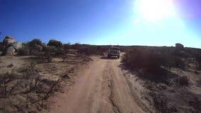 Έρημος από τις οδικές περιπέτειες - υψηλή έρημος 3 απόθεμα βίντεο