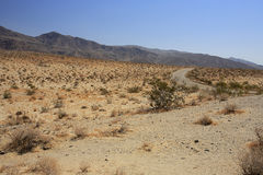 έρημος από το δρόμο Στοκ εικόνα με δικαίωμα ελεύθερης χρήσης