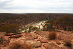 Έρημος Αυστραλία Στοκ εικόνα με δικαίωμα ελεύθερης χρήσης