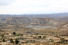 έρημος ζωντανή Ισπανία tabernas της Ανδαλουσίας Στοκ Εικόνα