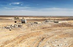 Έρημος Ιορδανού Στοκ Φωτογραφίες