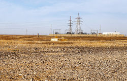 Έρημος Ιορδανού Στοκ Εικόνες