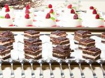 έρημος κέικ Στοκ εικόνα με δικαίωμα ελεύθερης χρήσης
