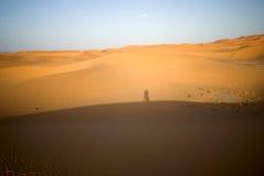 έρημος Μαρόκο Σαχάρα Στοκ εικόνα με δικαίωμα ελεύθερης χρήσης