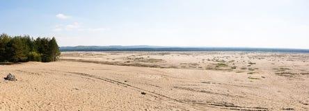 Έρημος Πολωνία Bledowska Στοκ εικόνες με δικαίωμα ελεύθερης χρήσης
