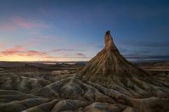 έρημος που διαβρώνεται Στοκ φωτογραφίες με δικαίωμα ελεύθερης χρήσης