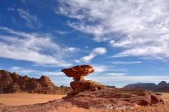 Έρημος ρουμιού Wadi Στοκ Φωτογραφίες