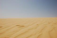 Έρημος Σαχάρας καλοκαιριού στην Τυνησία Στοκ φωτογραφία με δικαίωμα ελεύθερης χρήσης