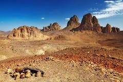 έρημος Σαχάρα της Αλγερία& Στοκ φωτογραφία με δικαίωμα ελεύθερης χρήσης
