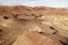 Έρημος σε africa3 Στοκ Εικόνα