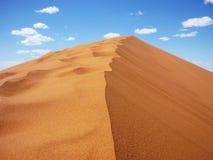 Έρημος σε Merzouga στοκ εικόνα με δικαίωμα ελεύθερης χρήσης