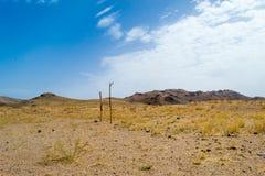 Έρημος στο νότιο Μαρόκο Στοκ φωτογραφία με δικαίωμα ελεύθερης χρήσης