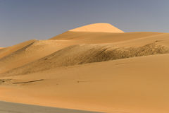 Έρημος του Αμπού Ντάμπι Στοκ εικόνα με δικαίωμα ελεύθερης χρήσης