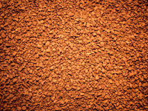 Έρημος του διαλυτού καφέ κοκκιοποίησης Στοκ Εικόνα
