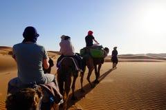 Έρημος του Μαρόκου Στοκ Φωτογραφία