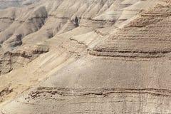 Έρημος Al Mujib Wadi, Ιορδανία Στοκ φωτογραφία με δικαίωμα ελεύθερης χρήσης