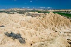 έρημος bardenas reales Στοκ φωτογραφία με δικαίωμα ελεύθερης χρήσης