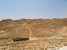 Έρημος Judaean - οι Άγιοι Τόποι Στοκ Φωτογραφία