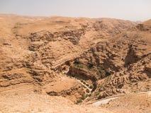 Έρημος Judaean - οι Άγιοι Τόποι Στοκ εικόνα με δικαίωμα ελεύθερης χρήσης