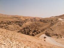 Έρημος Judaean - οι Άγιοι Τόποι Στοκ Εικόνες