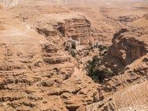 Έρημος Judaean - οι Άγιοι Τόποι Στοκ εικόνες με δικαίωμα ελεύθερης χρήσης