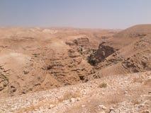 Έρημος Judaean - οι Άγιοι Τόποι Στοκ φωτογραφίες με δικαίωμα ελεύθερης χρήσης