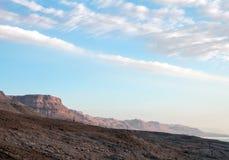 Έρημος Judean κοντά στη νεκρή θάλασσα το πρωί στοκ φωτογραφίες με δικαίωμα ελεύθερης χρήσης