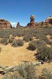 έρημος moab Utah Στοκ Φωτογραφία