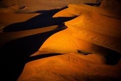 Έρημος Namib - ακτή σκελετών Στοκ Εικόνες