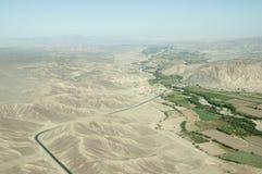 Έρημος Nasca - Περού στοκ εικόνες