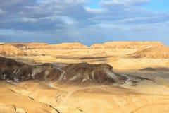 Έρημος Negev Στοκ φωτογραφία με δικαίωμα ελεύθερης χρήσης