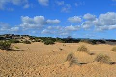 Έρημος Piscinas, Ιταλία Στοκ Εικόνες