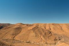 Έρημος somwhere στην Αφρική, κοντά στα βουνά ατλάντων Στοκ φωτογραφίες με δικαίωμα ελεύθερης χρήσης