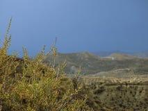 Έρημος Tabernas, Αλμερία, Ισπανία στοκ εικόνες με δικαίωμα ελεύθερης χρήσης