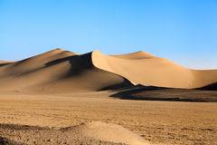 Έρημος Varzaneh, επαρχία του Ισφαχάν, Ιράν Στοκ Φωτογραφίες