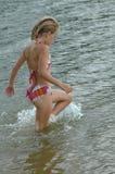 έριξε το wading ύδωρ Στοκ φωτογραφία με δικαίωμα ελεύθερης χρήσης