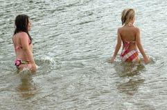 έριξε το wading ύδωρ Στοκ φωτογραφίες με δικαίωμα ελεύθερης χρήσης