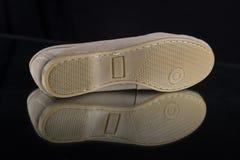 δέρμα παπουτσιών Στοκ Φωτογραφίες